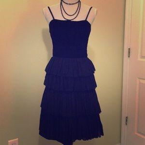 Vintage black dress Size 2